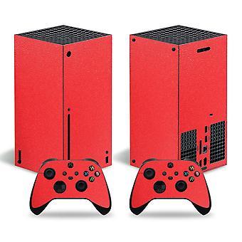 Ίνα άνθρακα και ματ για το αυτοκόλλητο δέρματος σειράς X Xbox για το pvc σειράς X Xbox