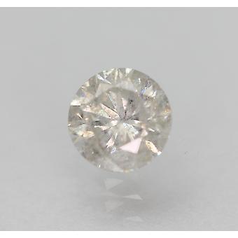 Sertifioitu 0,55 karat G SI2 pyöreä brilliant parannettu luonnollinen löysä timantti 5,03mm