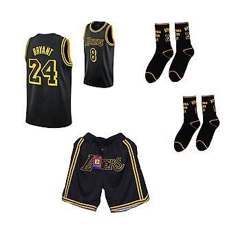 Kobe Bryant/no.24 Memorial Jersey/musta kultakoripallopaita