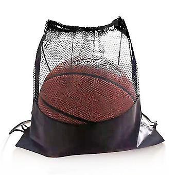 Bærbar Fotball Lagring Net Organizer Multi-funksjon Basketball Mesh Vesker