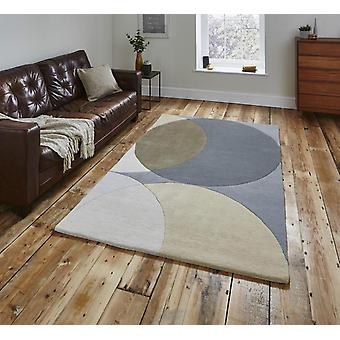 Think Elements EL43 GREY  Rectangle Rugs Plain/Nearly Plain Rugs