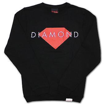 Diamond Supply Co Solid Sweatshirt Black