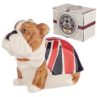 Piggy banks money jars fun novelty ceramic british bulldog money box