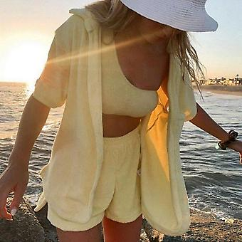 Velvet beach two piece set casual cardigan top summer outfits