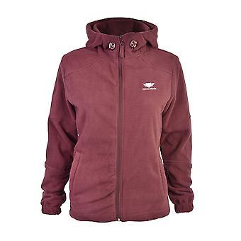 Slimbridge Grandola taille L Womens Fleece Jacket, prune