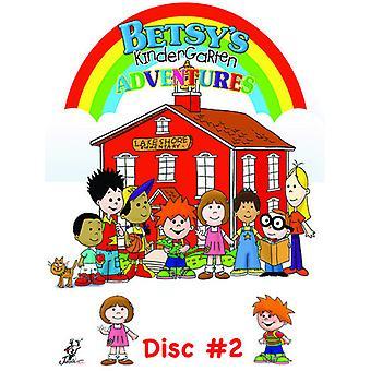 Betsy's Kindergarten Adventures 2 [DVD] USA import