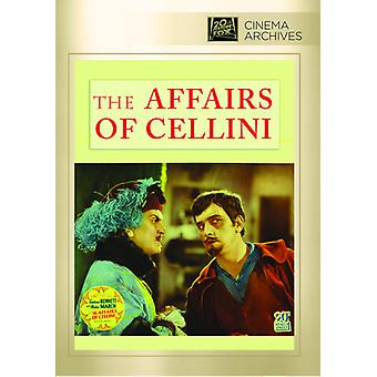 Zaken van Cellini [DVD] USA importeren