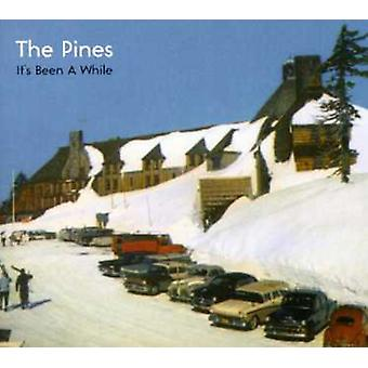 Pines - It's Been a While [CD] USA import