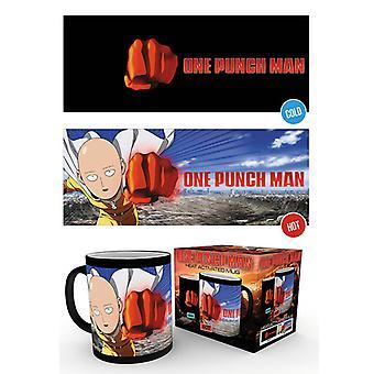 One Punch Man Saitama Heat Changing Mug
