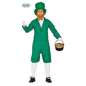 Irischer Gnom Kostüm Gnomkostüm Leprechaun Herren Gr. M