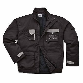 Portwest - vêtements de travail Texo coton chaud uniforme riches en contraste veste - doublé