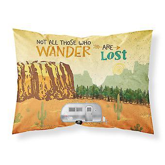 Airstream Camper Camping Wander Fabric Standard Pillowcase