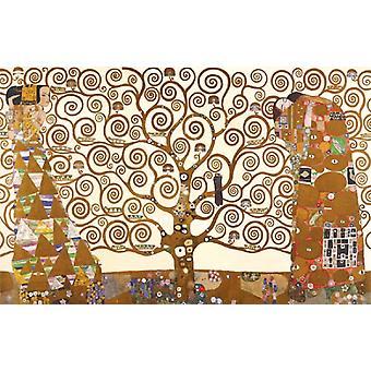 Baum des Lebens Poster Print von Gustav Klimt (36 x 24)