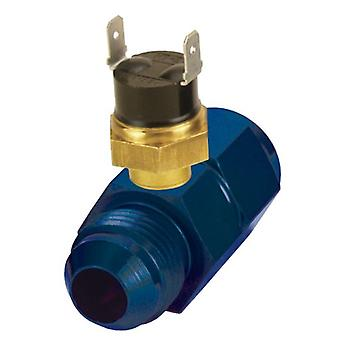 Derale 35021 -8AN x -8AN Premium 180 Degree In-Line Fluid Thermostat