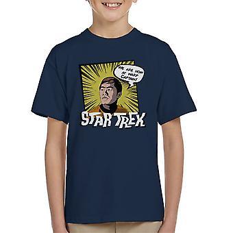 Tähden Trek Sulu koominen tyyli Lasten t-paita