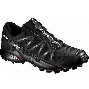 サロモンWテレニースピードクロス4 383097ランニングオールイヤーの女性靴