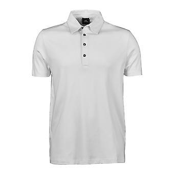 Tee Jays Mens Pima Short Sleeve Cotton Polo Shirt