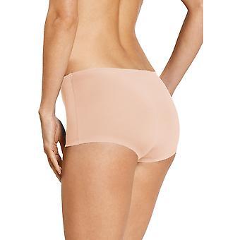 Mey 79003-376 Women's Illusion Cream Tan Solid Colour Knicker Shorties Boyshort