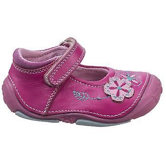 Hush Puppies Girls Lara Pre-walker Shoes Pink F Fitting