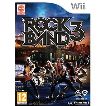 Rock band 3 (Wii)-in de fabriek verzegeld