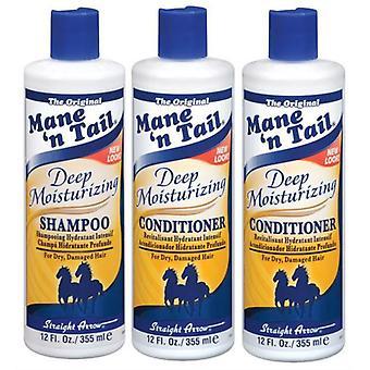 Mane 'n Tail Deep Moisturizing Shampoo & Conditioner Combo 355ml X 2