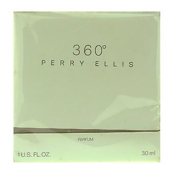 Perry Ellis 360 Parfum 1.0 Oz/30 ml i rutan (Vintage)