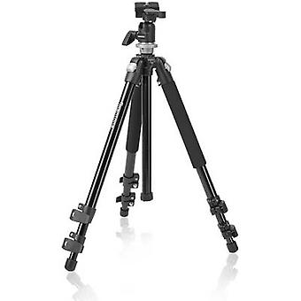 Mantona Pro Makro II Stativ Tripod 1/4, 3/8 ATT.FX.WORKING_HEIGHT=17 - 151 cm Black Ball head
