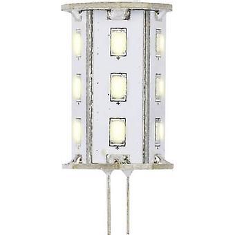 Sygonix LED (monochrome) EEC A (A++ - E) G4 Pen 2.4 W = 20 W Warm white (Ø x L) 22 mm x 46 mm 1 pc(s)