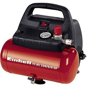 Einhell luft kompressor TC-AC 190/6/8 i 6 l 8 bar