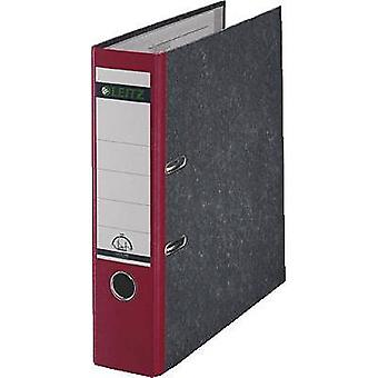 Ancho del lomo de A4 Leitz carpeta 1080: soportes de papel de pasta roja de 80 mm 2 10805025