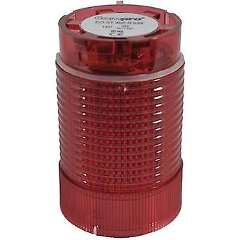 ComPro Signal tower component LED CO ST 40 Red Non-stop light signal, Flash, Emergency light 24 V DC, 24 V AC 75 dB