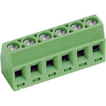 PTR AKZ602/3-3.81-V בורג מסוף 1.00 מ ר מספר פינים 3 ירוק 1 pc (עם)