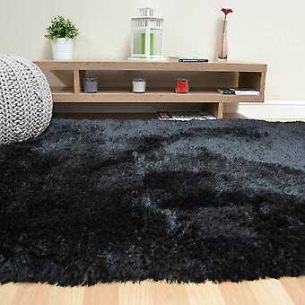 Peluches Shaggy Tapis In Black