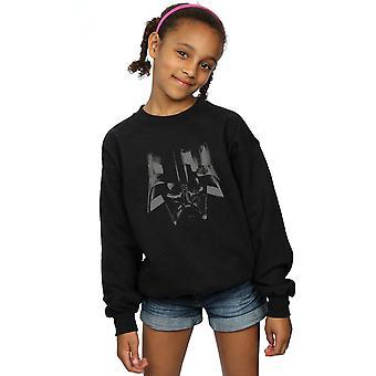 Star Wars Girls Darth Vader Helmet Sweatshirt