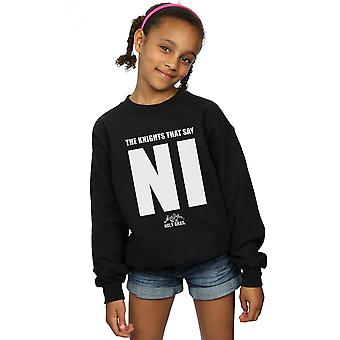 Monty Python Girls Knights Who Say NI Sweatshirt