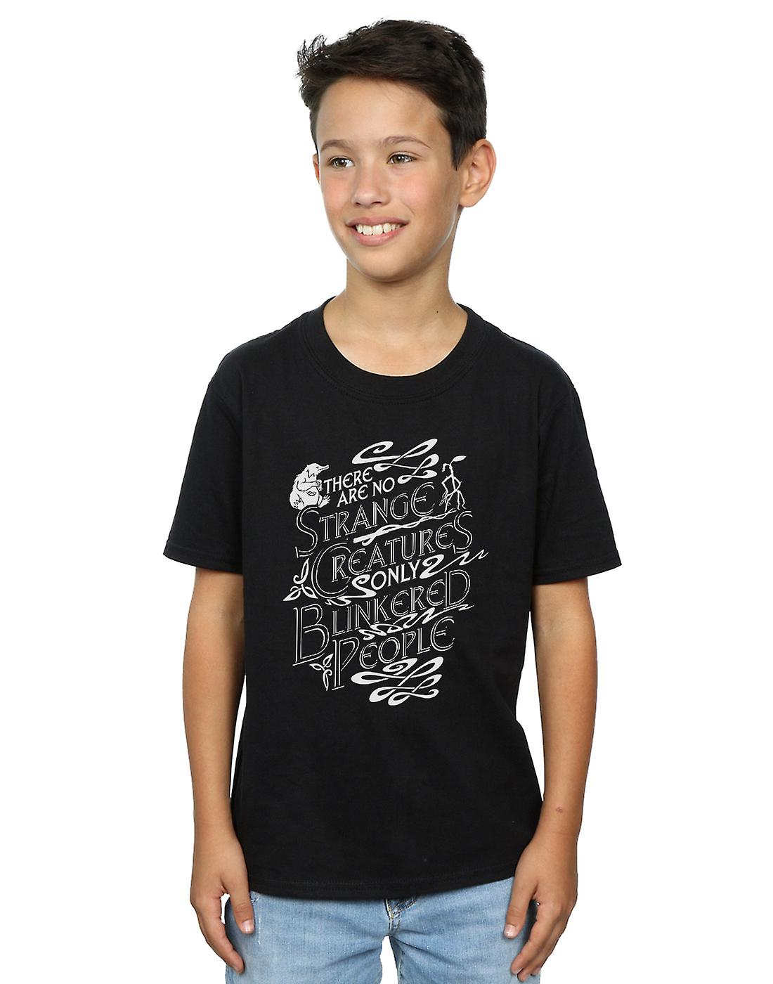 Fantastic Beasts Boys Strange Creatures T-Shirt