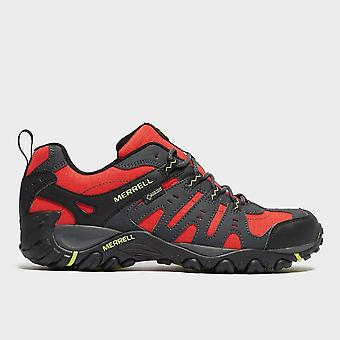 New Merrell Men's Accentor Gore-Tex Walking Trekking Walking Shoe Red