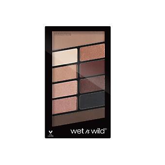 Wet n Wild Color Icon 10-Pan Eyeshadow Palette Nude Awakening