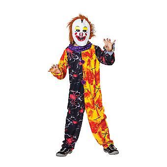 Halloween Clown Boy Medium