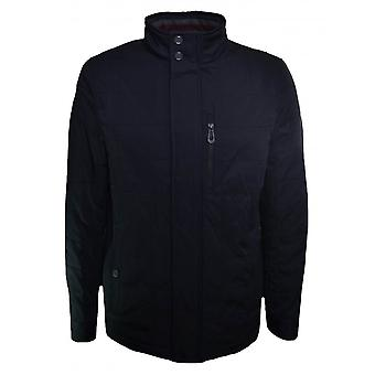 Giacca Harrington trapuntata a Reller Navy Blue Ted Baker maschile