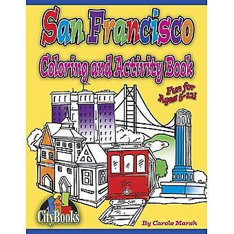San Francisco-Färbung und Aufgabenbuch