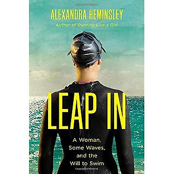 Sprong In: Een vrouw, enkele golven, en de wil om te zwemmen