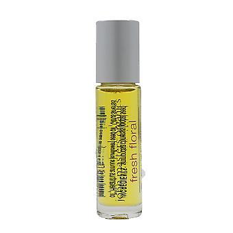 John Masters Organics Roll-On Fragrance 'Fresh Floral' 0.3oz/9ml New In Box