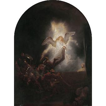The Resurrection of Christ, Rembrandt, 50x37cm