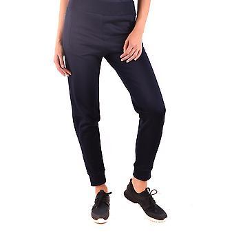 Moncler Ezbc014035 Women's Blue Cotton Joggers