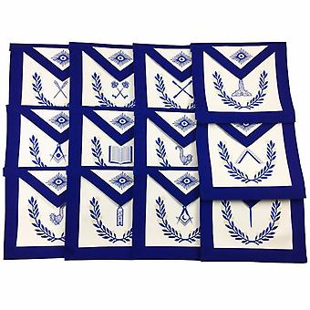 Masonic Blue Lodge Officers Aprons-Standard