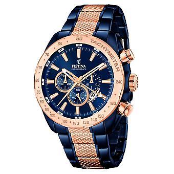 Festina F16886/1 Prestige Heren Horloge 44,5mm