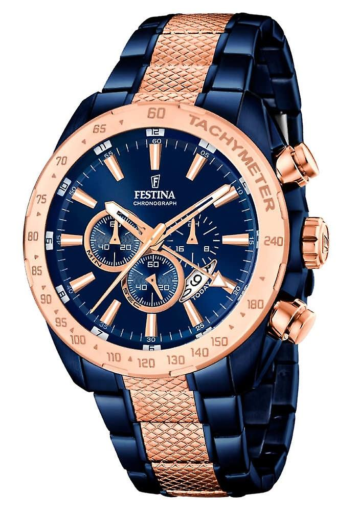 Festina F16886/1 Prestige Men's Watch 44, 5mm