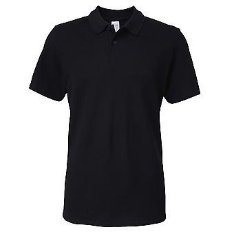 Gildan mens Softstyle ringspun katoen Pique Polo shirt