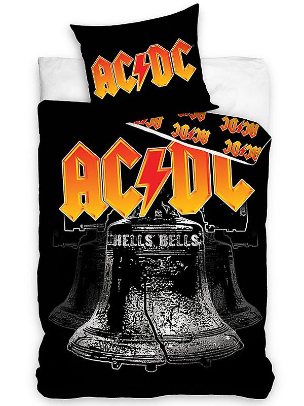 AC/DC Hells Bells Single Cotton Duvet Cover Set